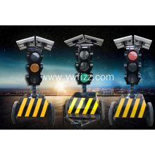 Mobile Solar Traffic Signal Light